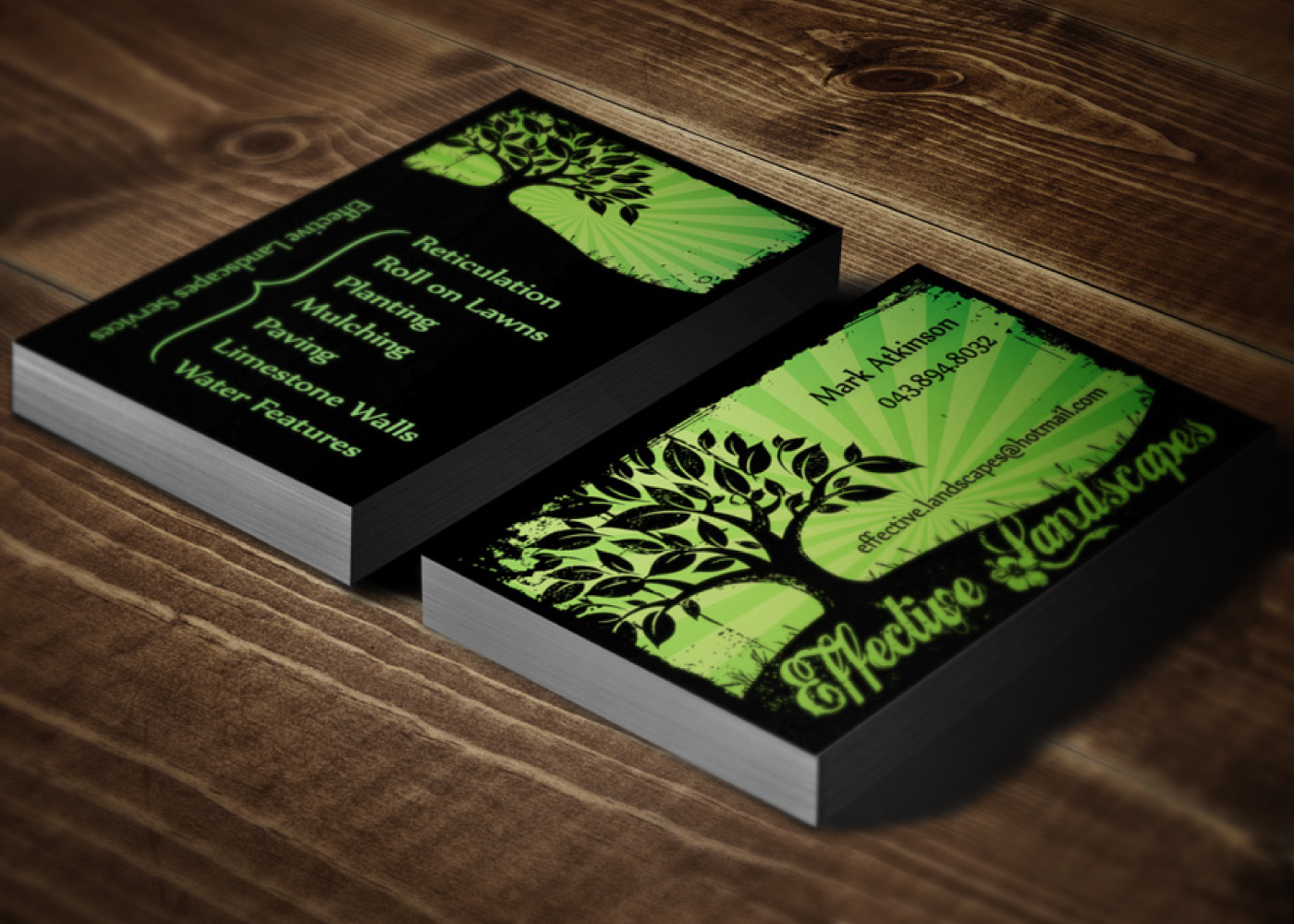 Landscaping business cards samplesandscape design how to make your lovely landscaping business cards ideas business card ideas creative business card landscaper landscaping business cards colourmoves
